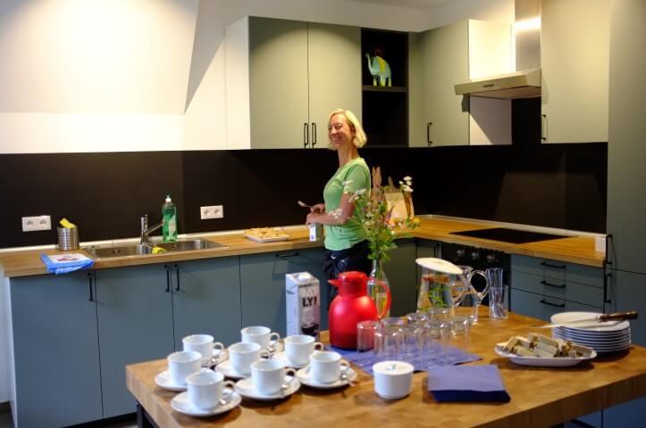 Die Küche wurde eingeweiht :)